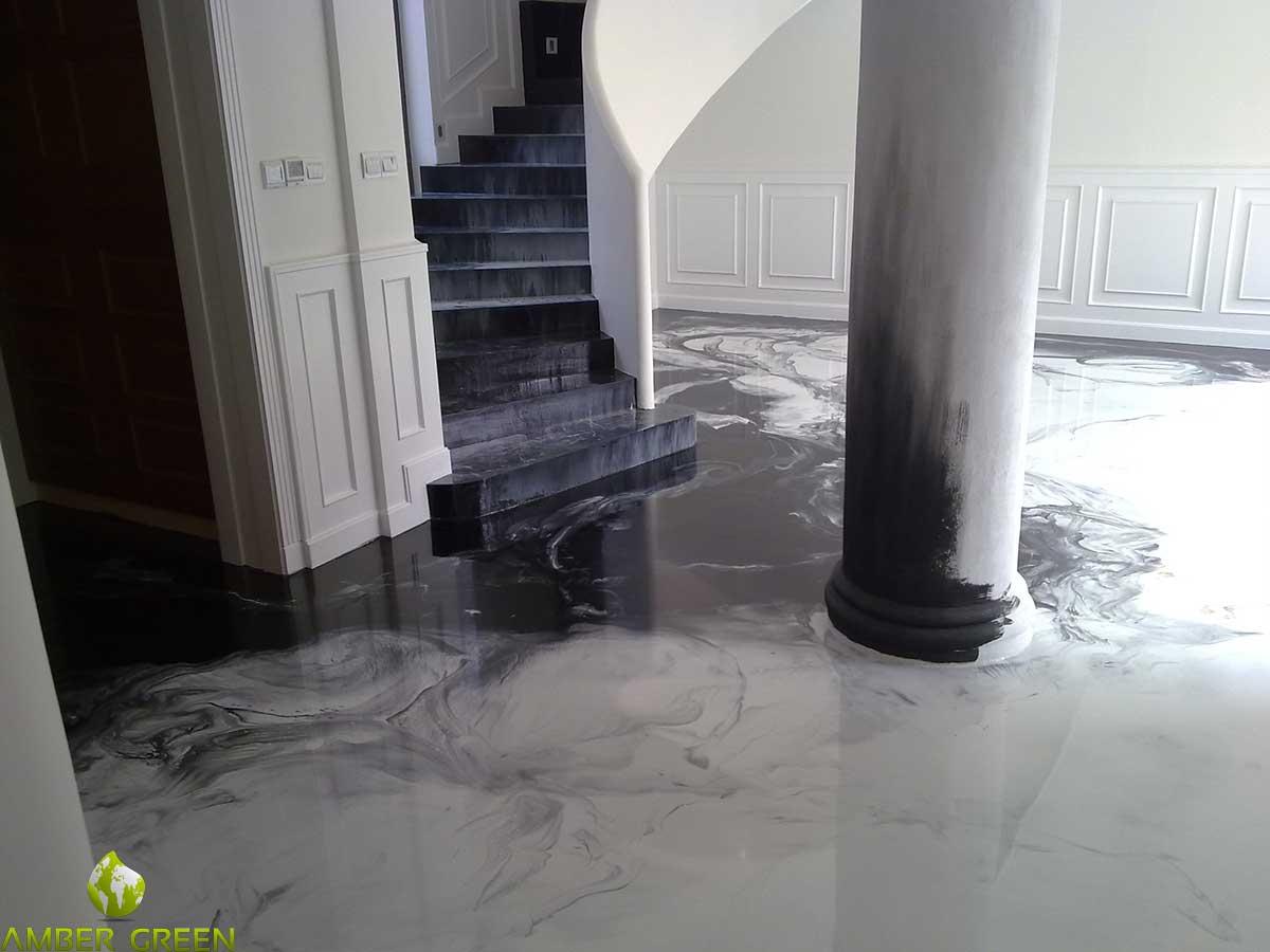Pavimenti per interni in pvc resina gomma e parquet - Pavimenti bagno in resina ...
