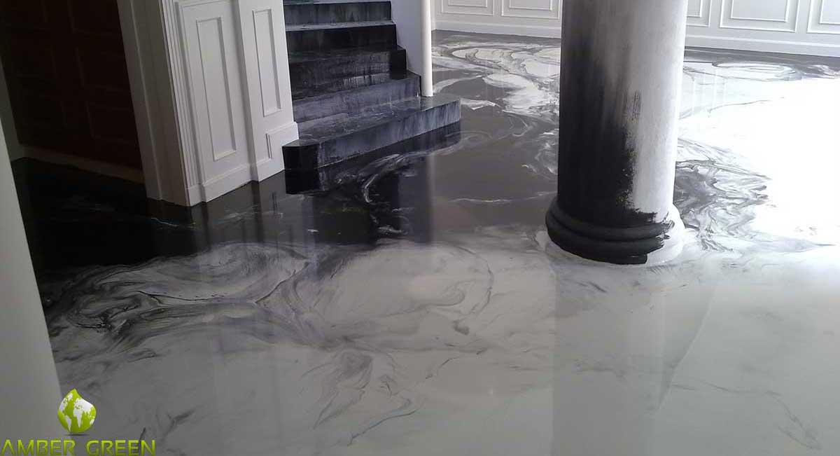 Posa resina pavimenti for Pavimento in resina pro e contro